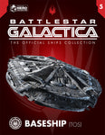 Classic Cylon Basestar with Collector Magazine (Battlestar Galactica 1978)