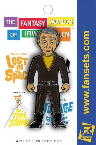 "Doctor Zachary Smith Collectible Pin from Irwin Allen's ""Lost in Space"""