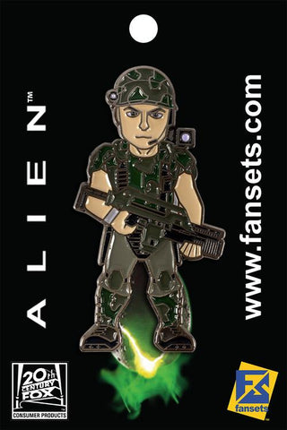 Corporal Dwayne Hicks Collectible Pin (Aliens)