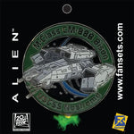 USCSS Nostromo Vessel Collectible Pin (Alien)