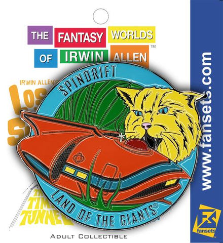 Irwin Allen's Spindrift Vehicle MicroFleet Pin (Land of the Giants)