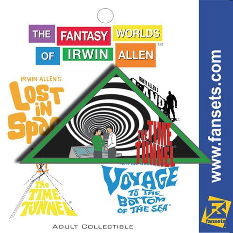 "The Fantasy Worlds of Irwin Allen Collectible Pin - ""The Time Tunnel"" (Pin 4 of 4)"