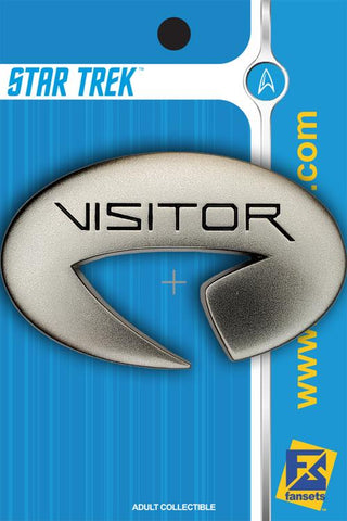 Starfleet Command Visitor Badge Collectible Pin (Star Trek: Picard)