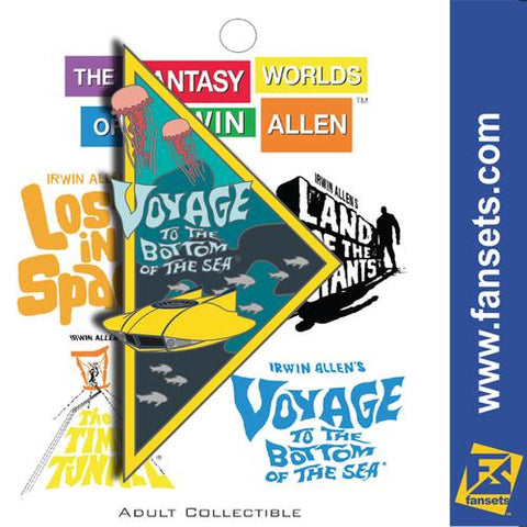 "The Fantasy Worlds of Irwin Allen Collectible Pin - ""Voyage to the Bottom of the Sea"" (Pin 1 of 4)"