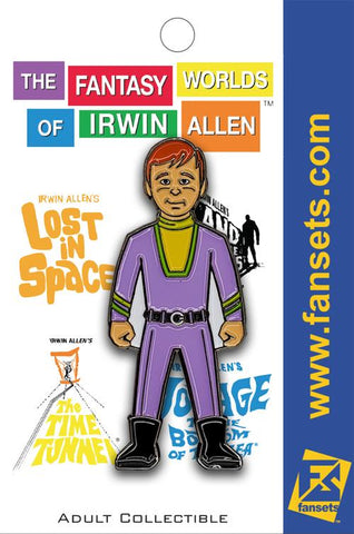 "Will Robinson Collectible Pin from Irwin Allen's ""Lost in Space"""