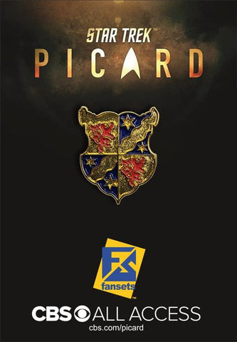 Picard Family Crest Collectible Pin (Star Trek: Picard)