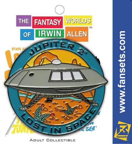Irwin Allen's Jupiter 2 Vehicle MicroFleet Pin (Lost in Space)