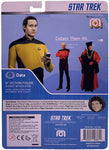 "STAR TREK: THE NEXT GENERATION Data 8"" Retro Action Figure from Mego"
