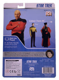 "STAR TREK: THE NEXT GENERATION Captain Picard 8"" Retro Action Figure from Mego"
