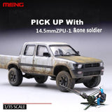 4X4 PICK UP w/ZPU-1 Plastic Model Building - La bourse des jouets