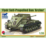 BRONCO Echelle 1/35 17pdr Self-Propelled Gun Archer - La bourse des jouets