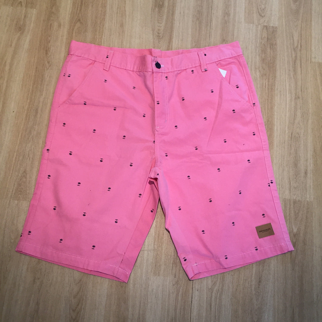 Guava palm shorts