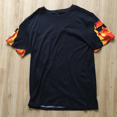 Ask your girl arabic fire tee