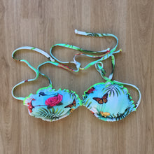Load image into Gallery viewer, Butterfly Rose string bikini