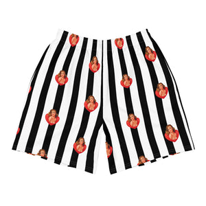 Love Pinstripe Weekend Shorts