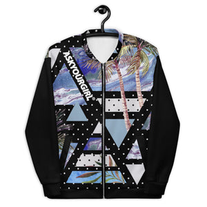 Geo Tropical bomber Jacket