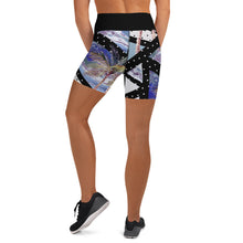 Load image into Gallery viewer, Geo Tropical Gym Shorts