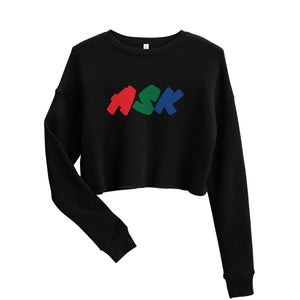 ASK Mood Cropped Sweatshirt