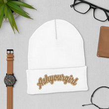 Load image into Gallery viewer, Askyourgirl Gold Cuffed Beanie