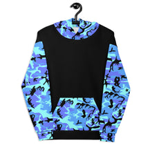 Load image into Gallery viewer, Baby Blue Camo Hoodie