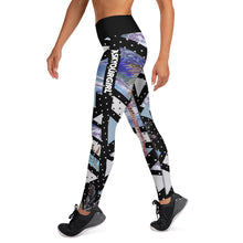 Load image into Gallery viewer, Geo tropical Leggings
