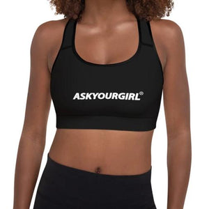 Staple Black Sports Bra