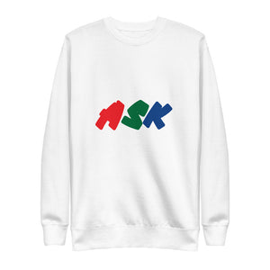 ASK Mood Fleece Pullover Sweatshirt