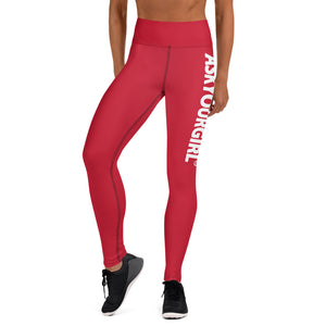 Staple Red Leggings