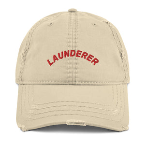 Launderer Lay Low Distressed Hat