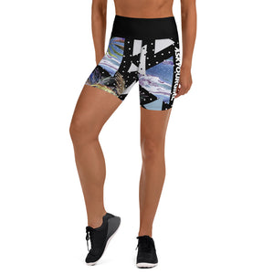 Geo Tropical Gym Shorts