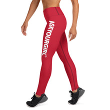 Load image into Gallery viewer, Staple Red Leggings