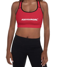 Load image into Gallery viewer, Staple Red Sports Bra