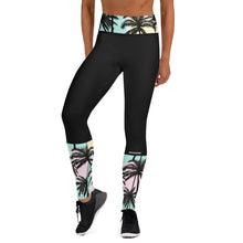 Load image into Gallery viewer, Pastel Palm Leggings