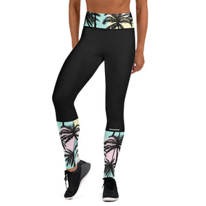 Pastel Palm Leggings