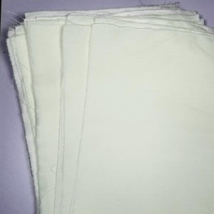 White Cotton Fabric Dream Banner Sheets