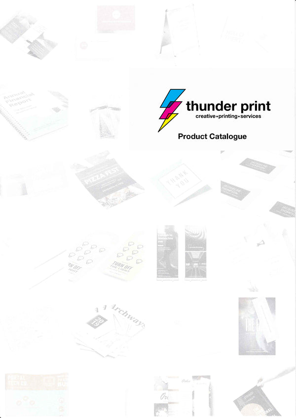 Product Catalogue - May 2020 - thunderprint