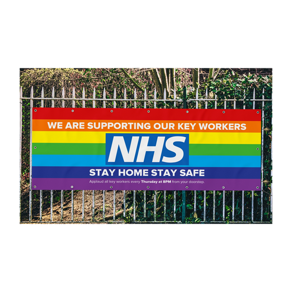 NHS SUPPORT BANNERS - thunderprint