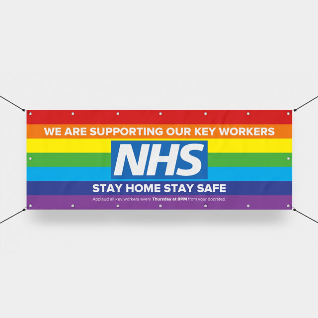NHS SUPPORT BANNERS