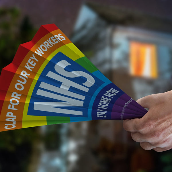 Hand Clappers for NHS Support - FREE GIVEAWAY - thunderprint