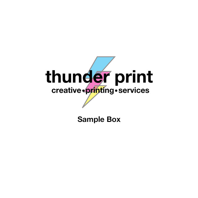 thunderprint Sample Box