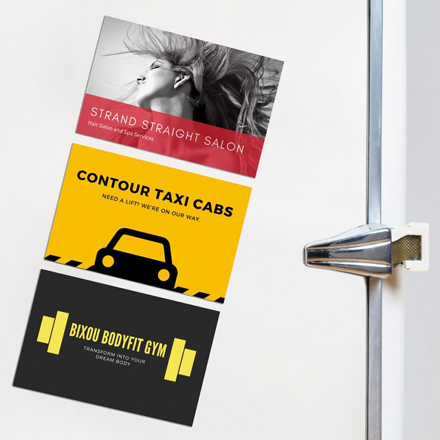 Business Cards - Fridge Magnet