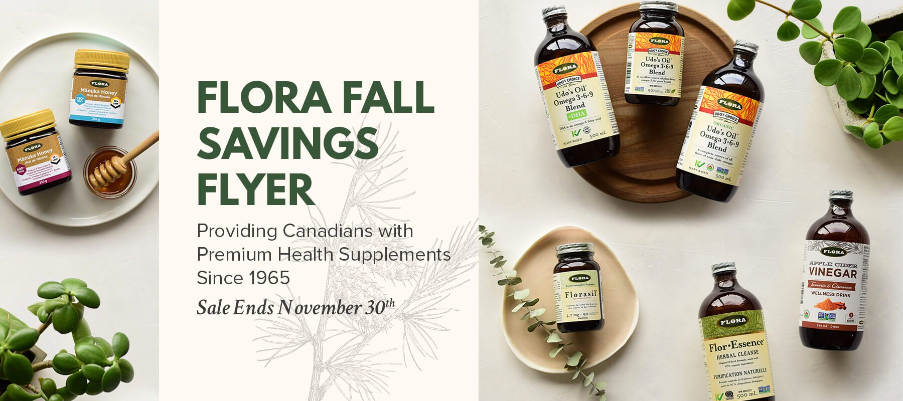 Flora Fall Saving Flyer