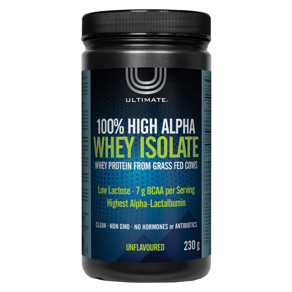100% High Alpha Whey Isolate Unflavoured