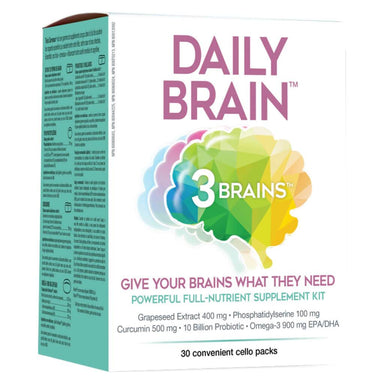 Box of 3 Brain Daily Brain 30 Packets