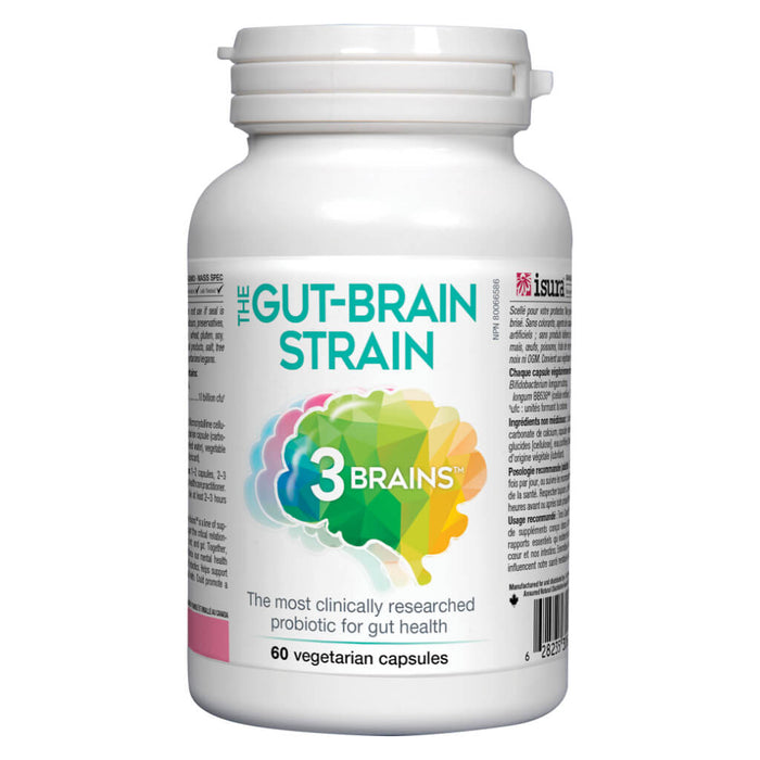 The Gut-Brain Strain 60 Vegetarian Capsules