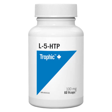Bottle of L-5-HTP 100 mg 60 V-Capsules