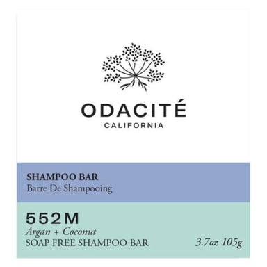 Box of Odacite 552M Argan + Coconut Shampoo Bar 3.7 Ounces