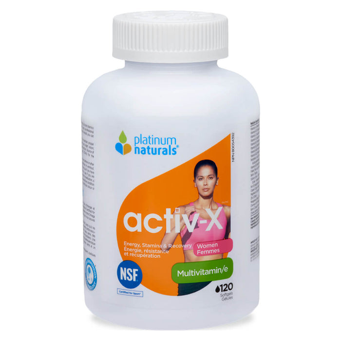 Activ-X Multivitamin for Women 120 Softgels