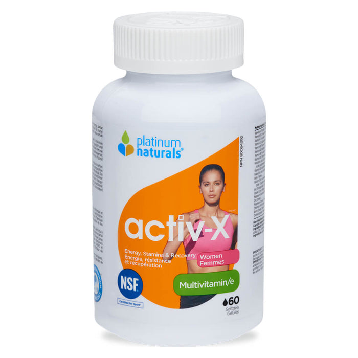 Activ-X Multivitamin for Women 60 Softgels