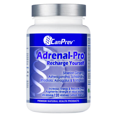 Bottle of Adrenal Pro 120 Capsules
